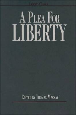 A Plea for Liberty by Thomas Mackay image