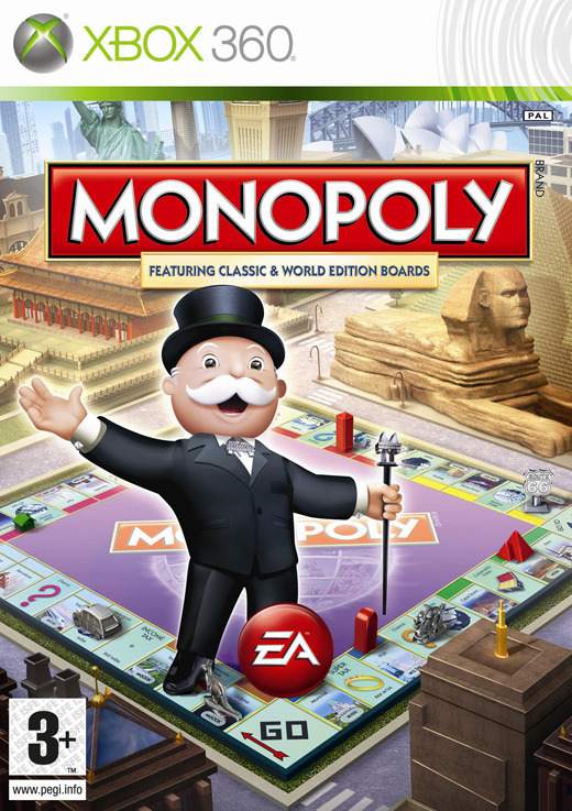 Monopoly Here & Now Worldwide Edition for X360