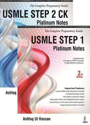 USMLE Platinum Notes Step 1 by Ashfaq Ul Hassan image