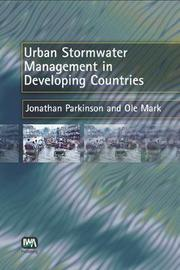 Urban Stormwater Management in Developing Countries by J. Parkinson