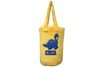 Bambury Dinkey Dinosaur Snuggle Rug (Lemon)