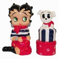 Betty Boop Salt and Pepper Shaker Set