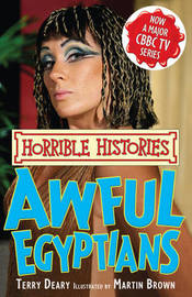 Awful Egyptians by Terry Deary image