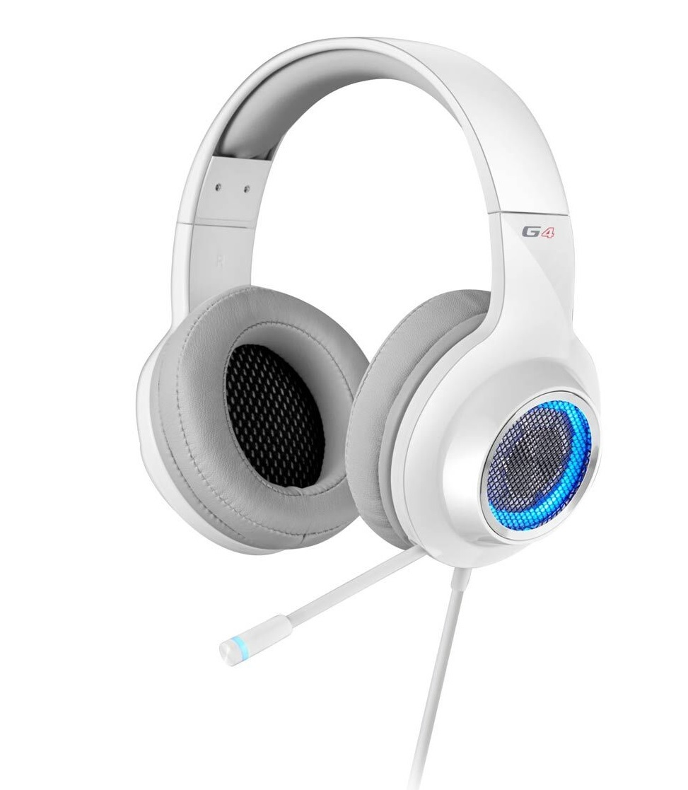 Edifier V4 Gaming Headset - White (PC & PS4) for  image