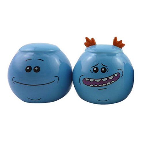 Rick and Morty: Mr. Meeseeks - Salt and Pepper Shaker Set