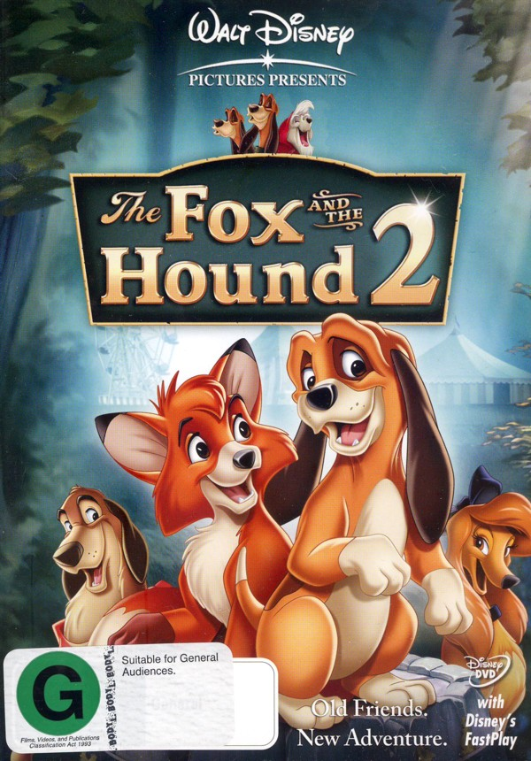 The Fox And The Hound 2 on DVD image