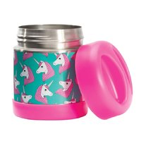 IS GIFT: Fun Times Hot & Cold Food Container - Unicorns