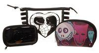 Nightmare Before Christmas Jack/Sally Cometic Bag Set