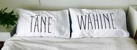 Moana Road: Double Pillowcases - Tane/Wahine image