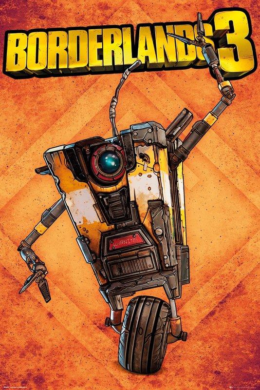 Borderlands 3: Maxi Poster - Claptrap (1020)