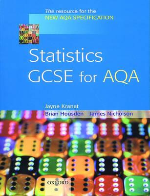Statistics GCSE for AQA by Jayne Kranat image