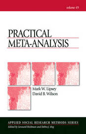 Practical Meta-Analysis by Mark W Lipsey image