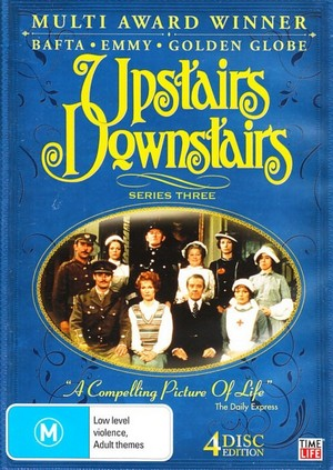 Upstairs Downstairs - Series 3 (4 Disc Set) on DVD image