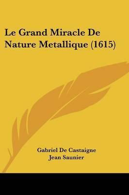 Le Grand Miracle De Nature Metallique (1615) by Gabriel De Castaigne