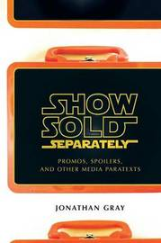 Show Sold Separately by Jonathan Gray