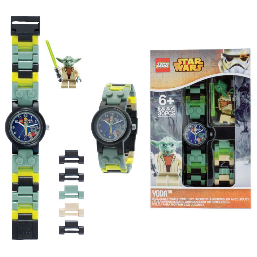 Lego Yoda Watch With Minifigure Boy S At Mighty Ape Nz