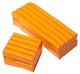 EC Colours - 500g Modelling Clay - Orange