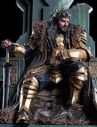 The Hobbit: King Thorin on Throne