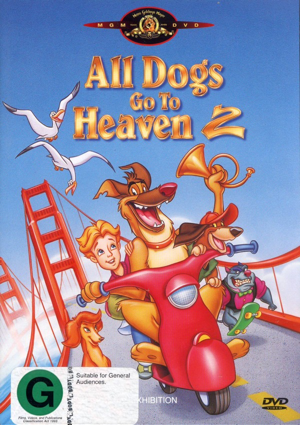 All Dogs Go To Heaven 2 on DVD image