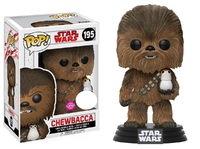 Star Wars: The Last Jedi - Chewbacca (Flocked) Pop! Vinyl Figure image