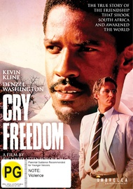 Cry Freedom on DVD