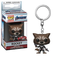 Avengers: Endgame - Rocket (Team Suit) Pocket Pop! Keychain