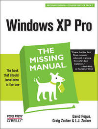 Windows XP Pro: The Missing Manual by David Pogue