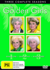 Golden Girls, The - Three Complete Seasons (12 Disc Box Set) on DVD