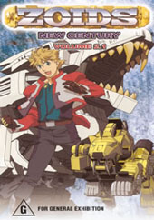 Zoids New Century Vol 2.1 on DVD