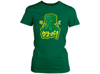 Minecraft Kawaii Creeper Women's T-Shirt - Large image