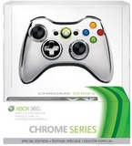 Xbox 360 Silver Special Edition Chrome Wireless Controller for Xbox 360
