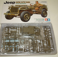 "Tamiya U.S. Willys MB ""Jeep"" 4x4 Truck 1/35 Model Kit image"