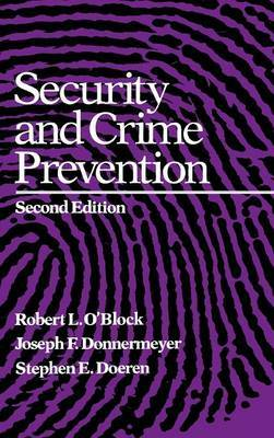 Security and Crime Prevention by Joseph Donnermeyer