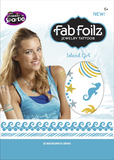 "Fab Foilz: Metallic Tattoos 4 X 8"" Envelope - Island Girl"