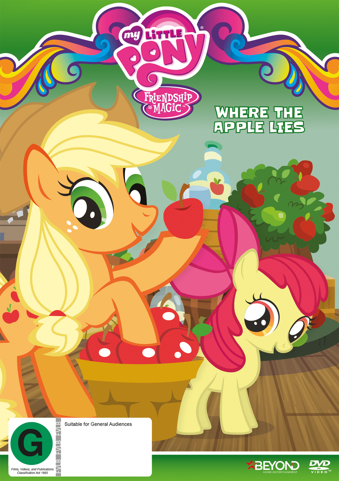 My Little Pony: Friendship Is Magic: Where The Apple Lies on DVD image
