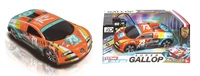 Cool Wind: Euro Style R/C Car - Orange/Green