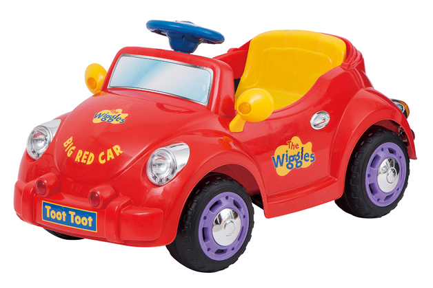 The Wiggles: 12V Motorised - Ride-On Big Red Car