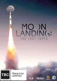 Moon Landing: The Lost Tapes on DVD image