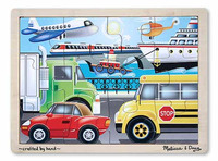 Melissa & Doug: On the Go Wooden Jigsaw Puzzle