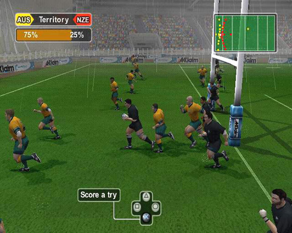 Zinzan's World Championship Rugby for Xbox image
