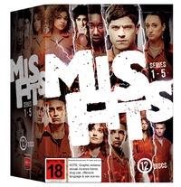 Misfits - Series 1-5 Box Set DVD