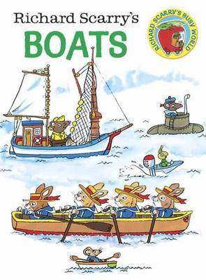 Richard Scarry's Boats Board Book by Richard Scarry