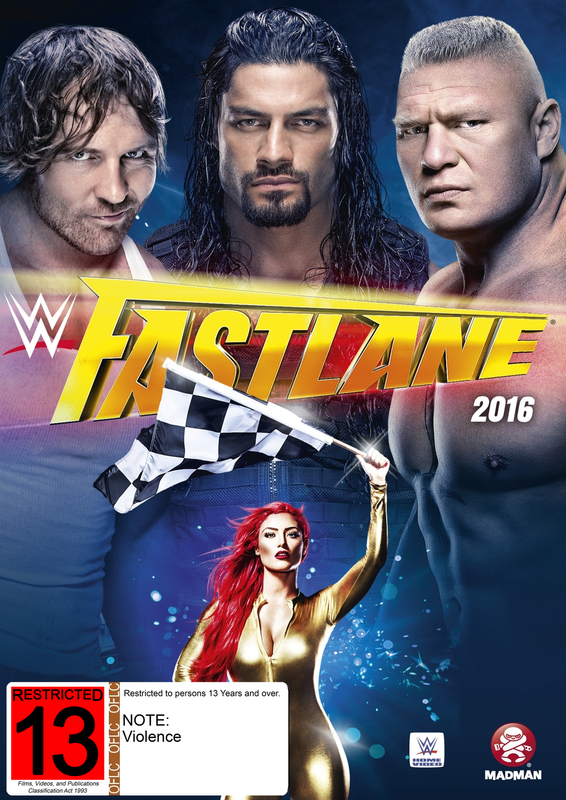 WWE: Fast Lane 2016 on DVD