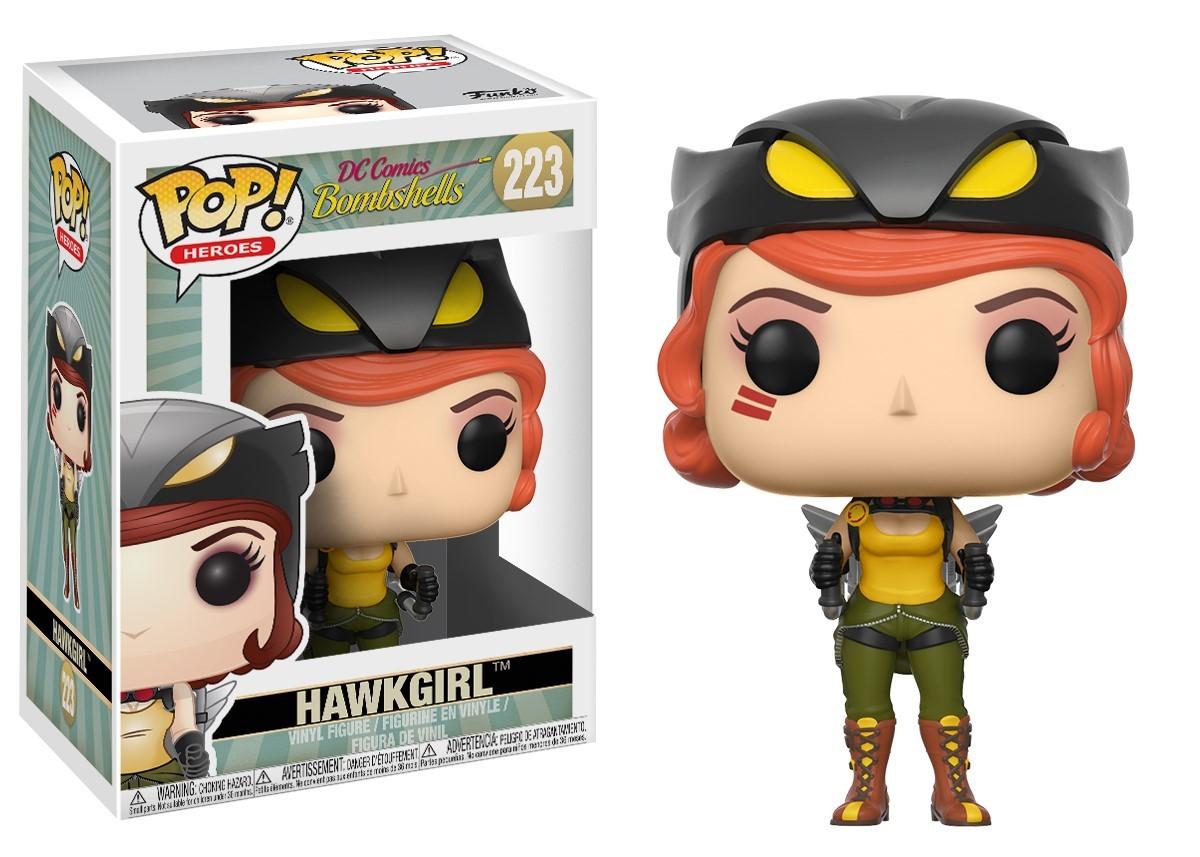DC Bombshells - Hawkgirl Pop! Vinyl Figure image