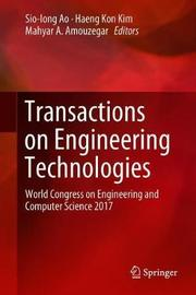 Transactions on Engineering Technologies image