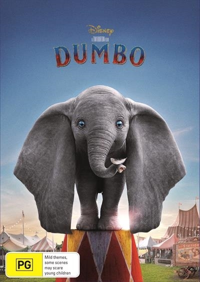 Dumbo (2019) on DVD