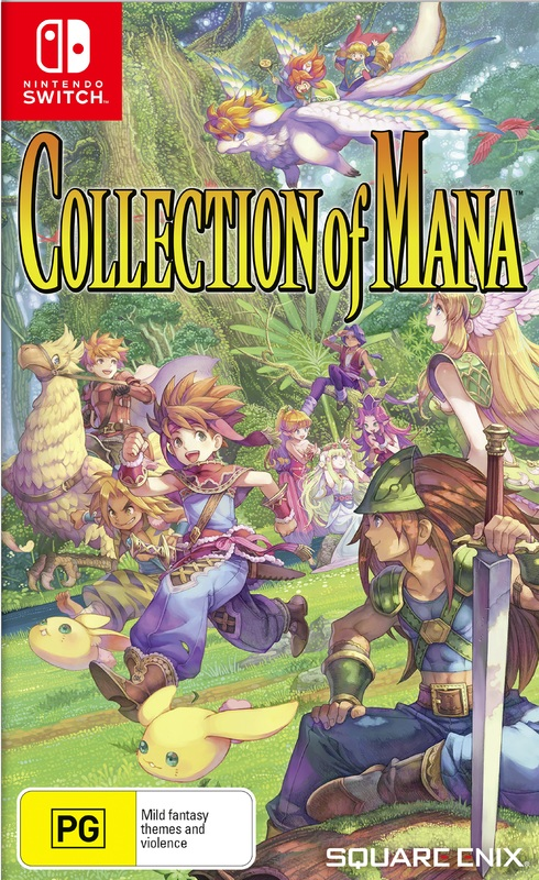 Collection of Mana for Switch