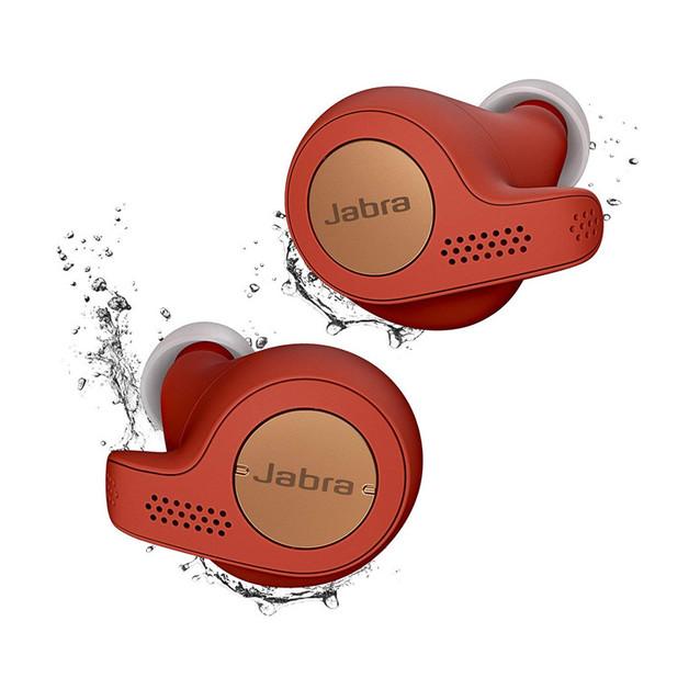 Jabra Elite Active 65t True Wireless In Ear Sport Headphones - Copper Red