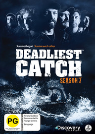 Deadliest Catch - Season 7 on DVD