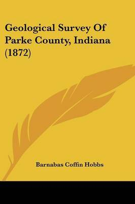 Geological Survey of Parke County, Indiana (1872) by Barnabas Coffin Hobbs image